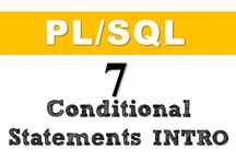 Control statements in Oracle PL/SQL / In Oracle PL/SQL we have different types of conditional control statements such as  Simple IF THEN statement IF-THEN-ELSE statement and  IF-THEN-ELSIF statement  This playlist consist all my tutorials explaining each of these topics in detail  Please follow me on Twitter for regular updates  also visit my website for more detail tutorials