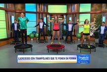 Adriana on Despierta America/Univision / I love promoting health and fitness. I constantly get invited to Despierta America airing on Univision and have a blast every time. Watch the segments here #health #fitness #diet #workout #exercise #despiertaamerica #tv