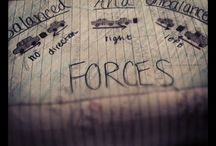 Science: motions/forces / by Jessica Lancaster