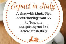 Expats in Italy: interview with expats living in Italy / A series of interviews with expats living in Italy, chatting about the ups and downs of moving to Italy and getting used to Italian language and way of life.