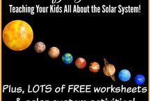 STEAM RTS Solar system and space