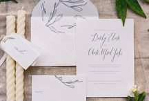Stationery Styling / Inspiration for stationery styling // inspiration as well as custom POPPYjack Shop custom projects