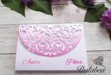 Elegáns esküvői meghívók - Elegant wedding invitation