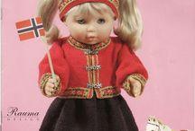 Doll bunad