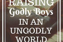 Biblical Encouragement for Boy Moms