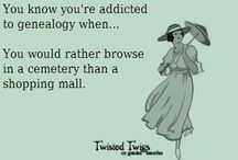 Genealogy funnies
