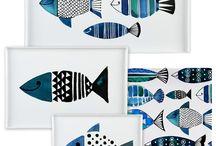 halak, víz, tenger