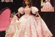 barbie crochet retro'