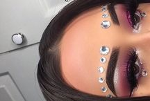 Makeup diamantjes