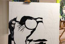 The making of a portrait  / Hoe een portret is gemaakt
