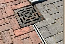 Drive Water drains