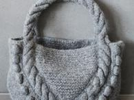 Knitted  and Felted Purses / by Katrina Lum
