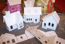 Paper Christmas Village / by Hannah Pickering