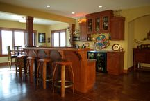 White Oak Residence / Custom designed and built home in Cedarburg, WI with modern craftsman aesthetic.