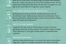All about writing