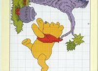 Punto croce Winnie the Pooh