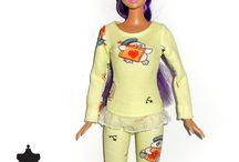 Fashion Dolls / Pajamas, Swimsuits and Underwear / Nightdresses and Underwear for Barbie - My Fashion Dolls World