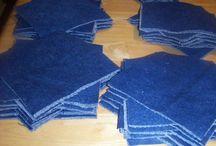 denim quilt ideas how to make