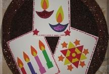 Diwali for Kids / A look at Diwali celebration ideas for kids.