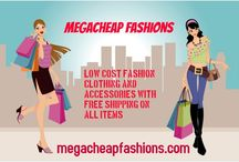 Banners and Posters / This board displays banners and posters featured on the MegaCheap Fashions website. / by MegaCheap Fashions