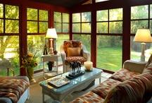 Spaces {Sunrooms & Porches}
