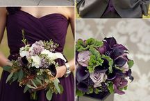 Wedding Purples