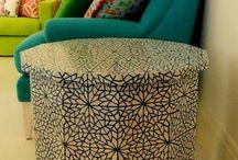 Modern Morocco / Photo-shoot inspiration #photo #shoot #inspiration #modern #morocco #design #interior #design
