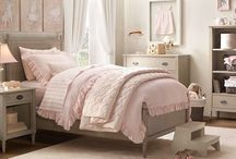 Pink & Gray Room / Pink and gray bedroom decorating ideas / by Lisa Williams