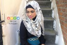 BubbleGumHijab / Here is a collection of some hijab styles