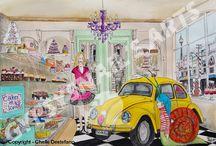 VW Ad, VW poster, style, design,/ julisteet, mainokset