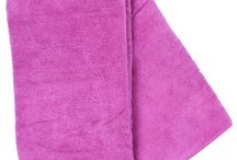 Micro Fiber Towels / We love these towels for keeping the moisture in tetured curly, wavy or tightly coiled hair