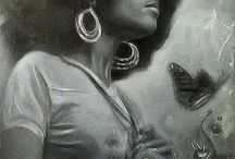 Back in Black / zwarte kunst