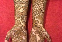 Bridal henna