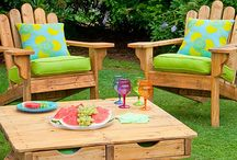 Out door table and chairs