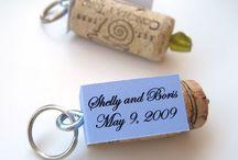 Creativity: bottle caps/wine bottles/corks/can tabs