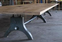inspiration | benchtops & table designs / Melbourne, Australia·www.timberrevival.com.au We've got a serious thing for timber. We're specialists of reclaimed Australian hardwoods and we're good at sourcing local timbers with great stories.