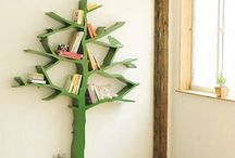Bookshelves / by Mia