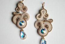 wedding soutache / wedding jewelry
