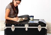 Jolies malles de rangement / Sélection de coffres de rangement et de malles de rangement pour la maison