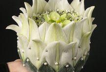 bijzondere bloemstukjes