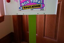 box tops / by Tracy Snowbarger