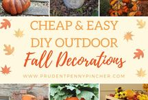 Fall - Decorations