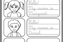 Greetings and Names Worksheet