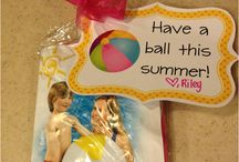 End of summer school party gift and ideas