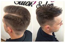 Pánské účesy / Men hair cut / Inspiration for men hair cut from our salon.