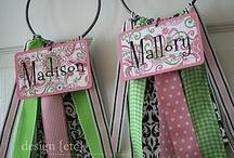 Ribbons and Hair Bows