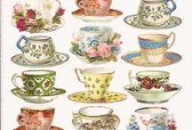 high tea servis