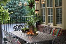 Outdoor decor / by Nicolette Detwiler
