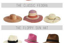 Sombreros - pavas