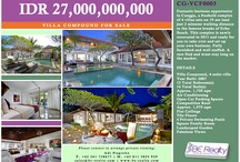 Hotelier in you / Hotels, compounds, complexes in Bali